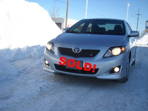 Sold my after-bankruptcy financed car