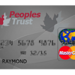Peoples Trust Secured MasterCard credit card for Canada