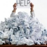 Information Overload when recovering from bankruptcy